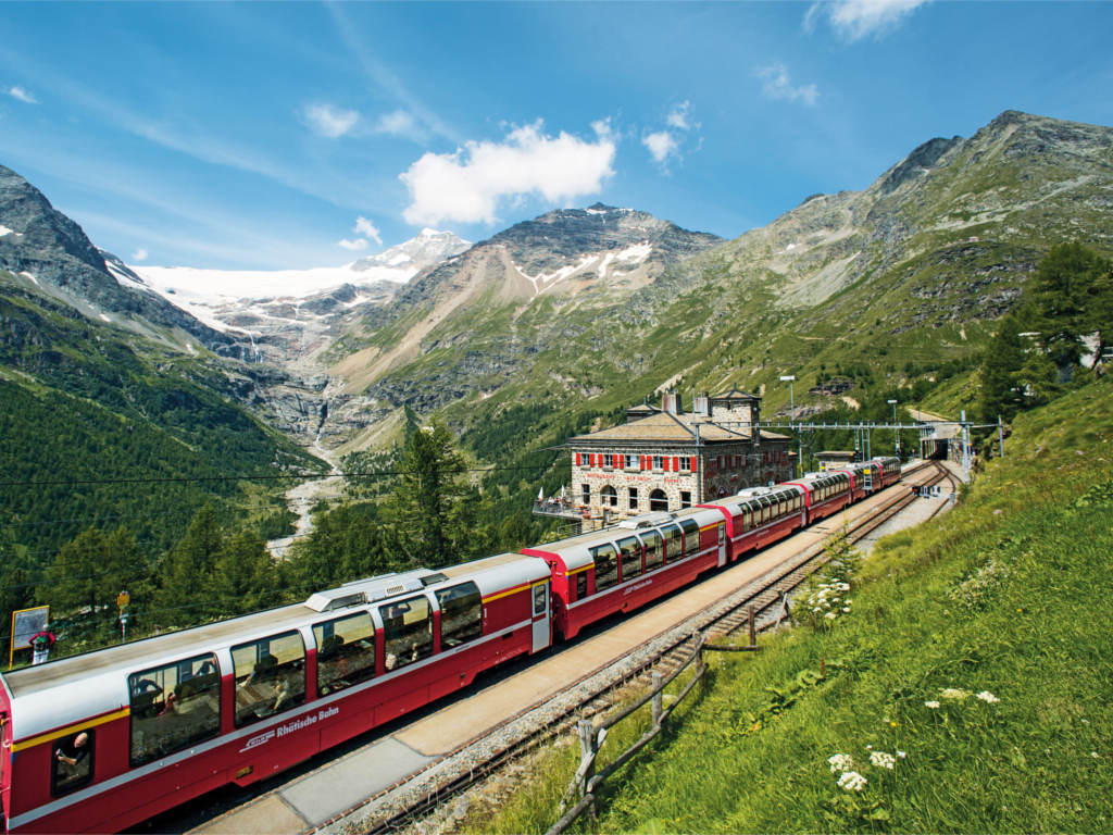 Bernina Express Alp Gruem