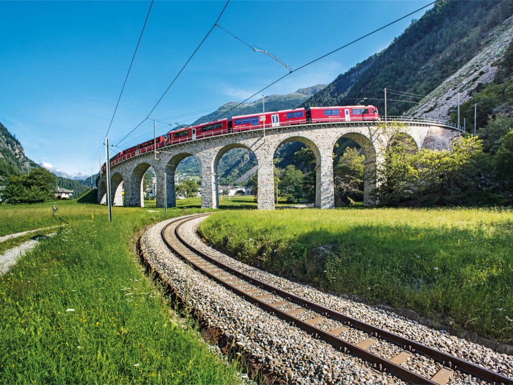Bernina Express Brusioviadukt