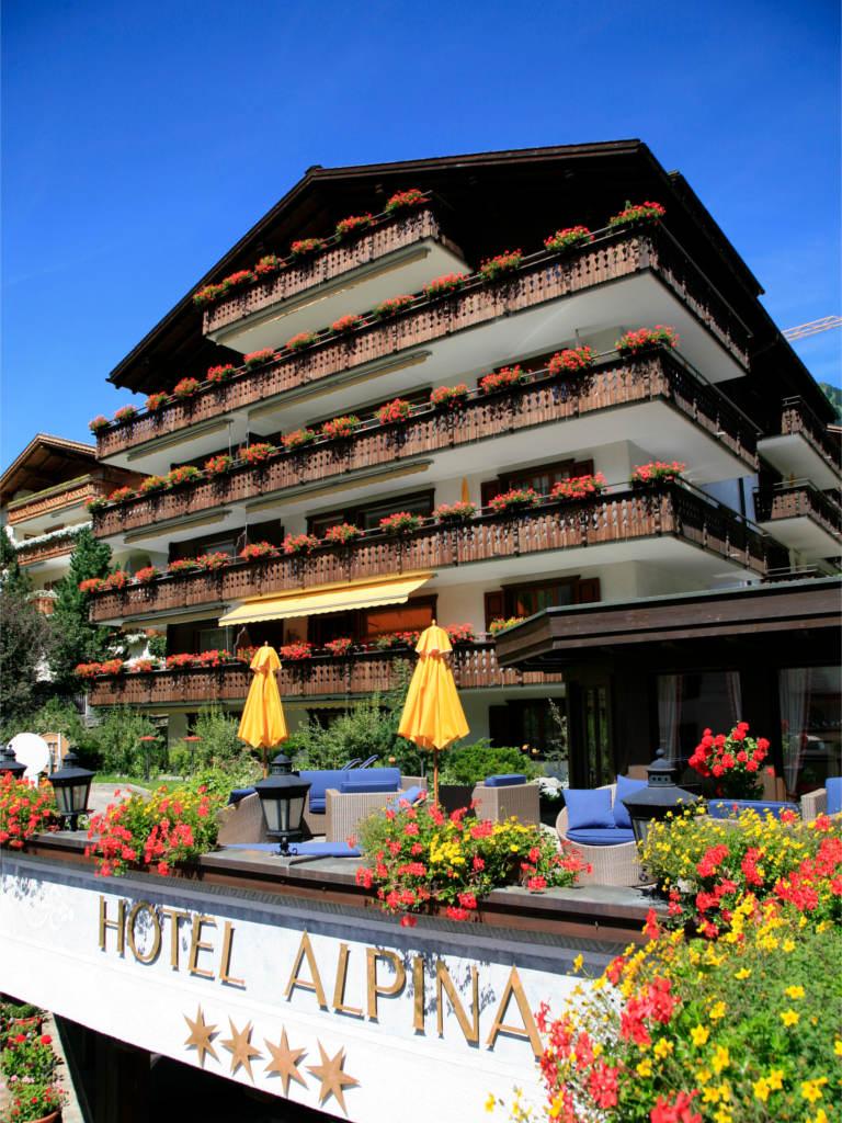 Hotel Alpina in Klosters | Urlaub Schweiz