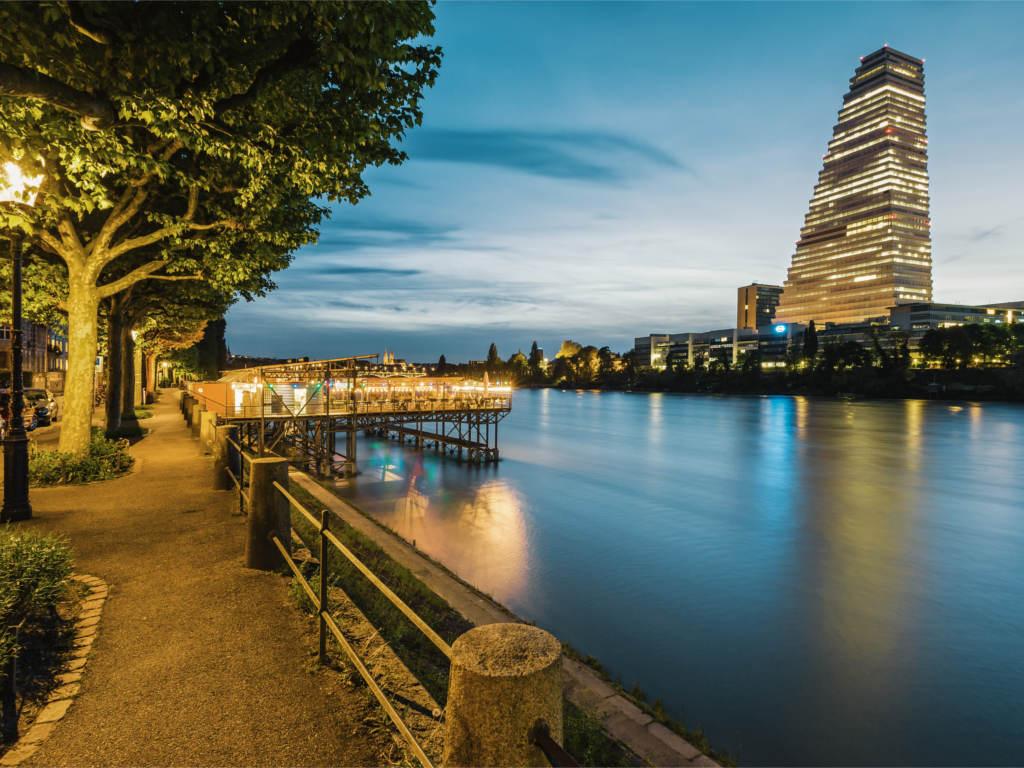 Standort rundreise basel mit bahn s pass schweiz for Architektur basel