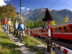 Bernina-Express erwandern